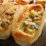 イタリア野菜のマヨネーズ焼き